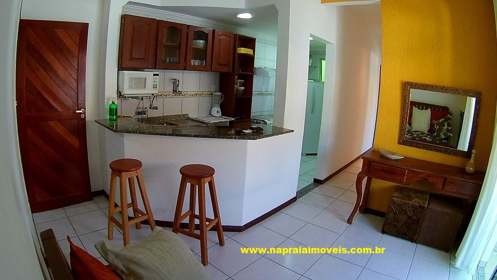 Season Duplex apartment, 3 bedrooms Sea Front in Flamengo Beach, Salvador, Bahia.