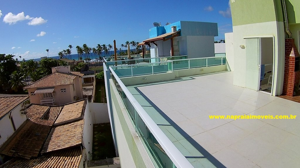 Apartment duplex with Penthouse, 2 Suites, sea view, Flamengo Beach